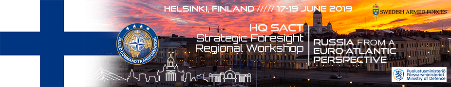 Strategic Foresight Analysis (SFA) Regional Workshop