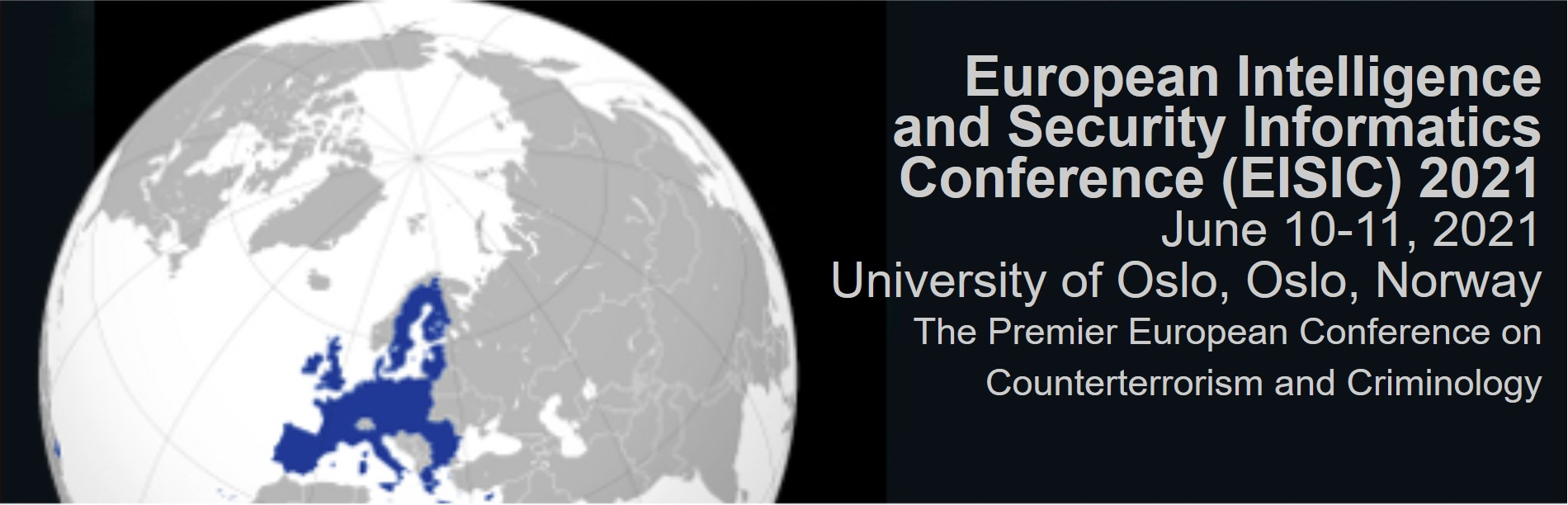 2021 European Intelligence and Security Informatics Conference (EISIC 2021)